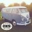 1967 13 window Deluxe Bus - Eve