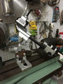 Drill sharpening jig