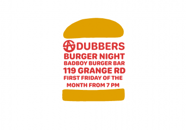 SA Dubbers Burger Night