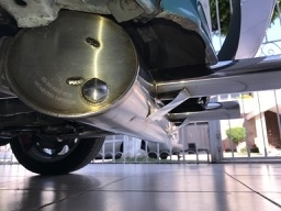 fat muffler?...  - who cares! adds more power and roars like wild beast
