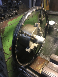 Mounting the Wheel in the lathe