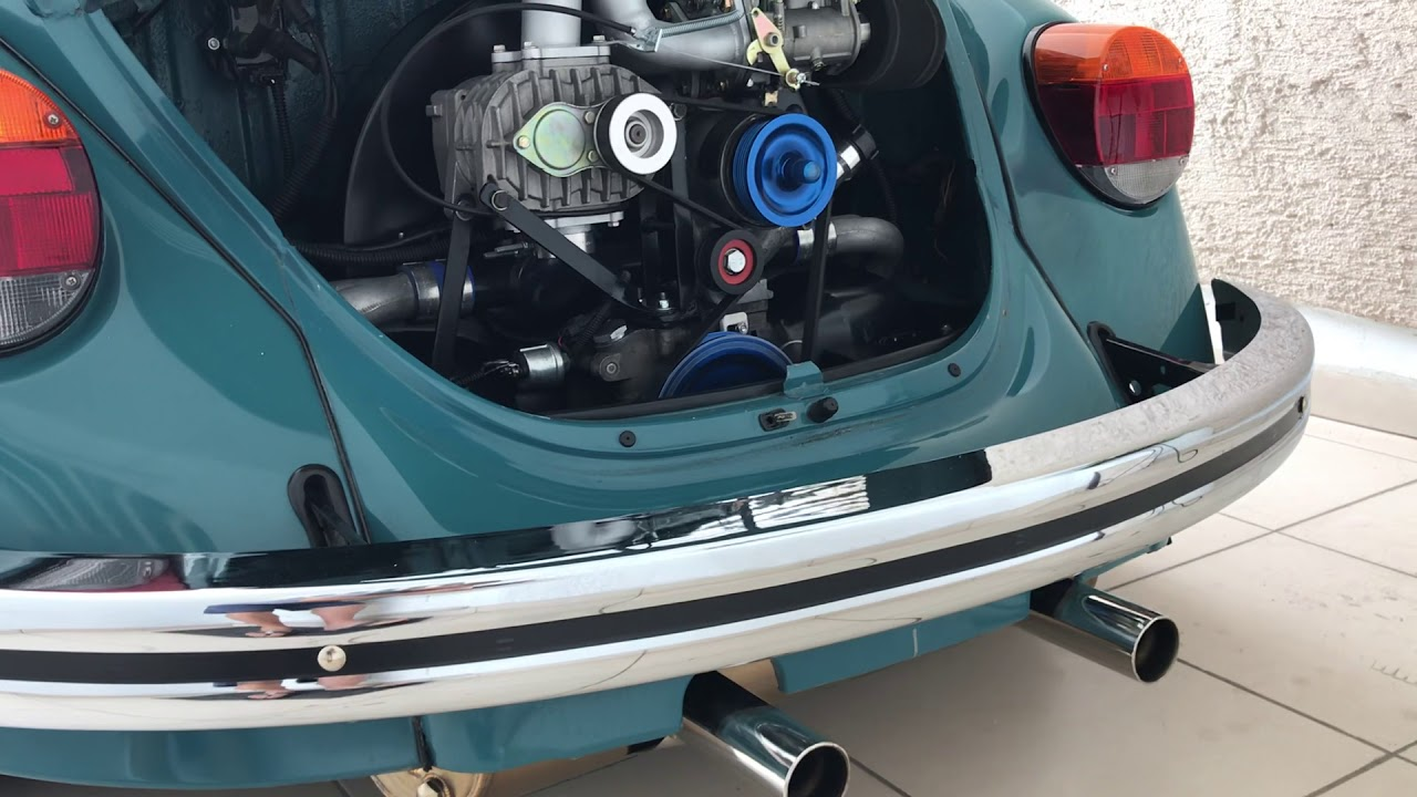 VW Type 1 with Canems ignition, AMR500 blower, Weber 40DCOE and Vintage Speed header