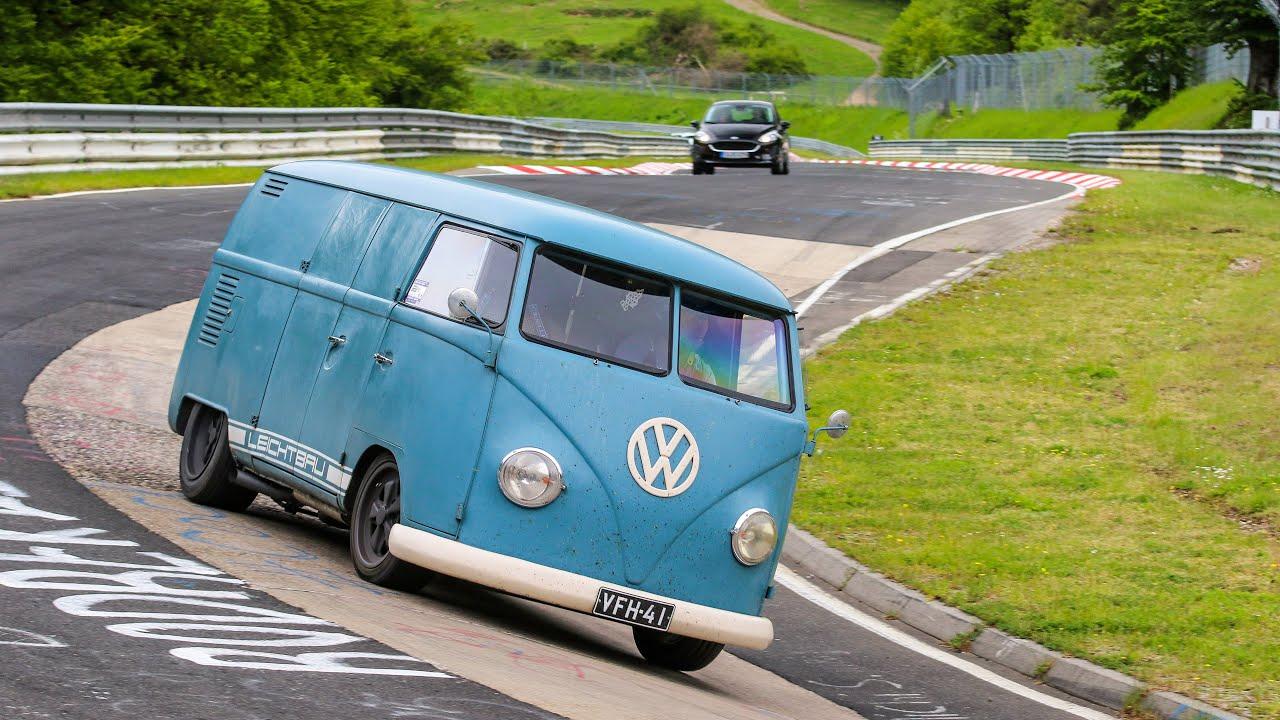 NOT YOUR AVERAGE VW T1! *Porsche Swap* Ring Lap
