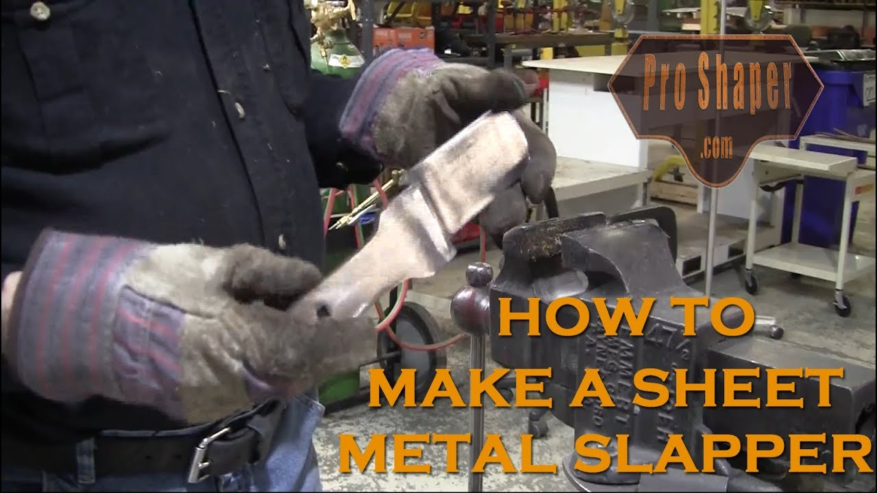 Metal Shaping Tools: How to make a Slapper (Part 1)