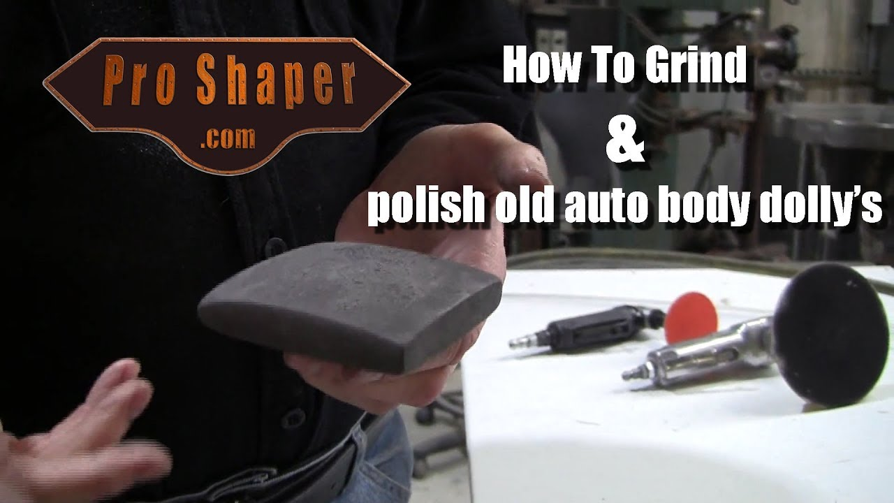 How to grind and polish your Autobody Dolly