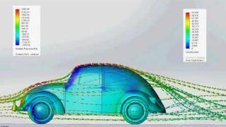 VW Beetle aerodynamics