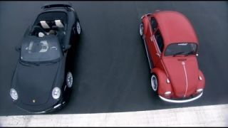 Porsche Turbo vs VW Beetle - Top Gear - BBC