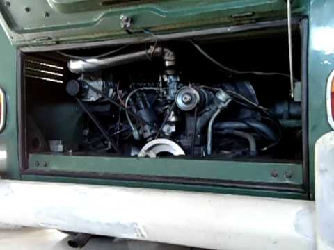 VW BUS KOMBI 1970 SUPERCHARGER EATON M24